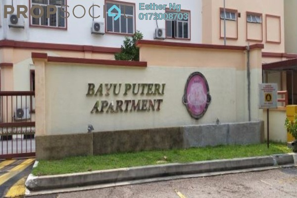 For Rent Apartment at Bayu Puteri, Tropicana Leasehold Semi Furnished 3R/2B 1.25k