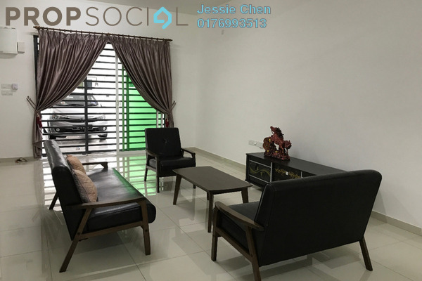 For Rent Terrace at Elvina, Bandar Sri Sendayan Freehold Semi Furnished 4R/4B 1.4k