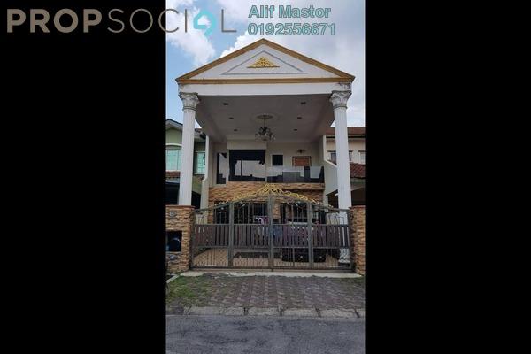For Rent Terrace at Taman Kajang Impian, Kajang Freehold Semi Furnished 3R/2B 1.5k