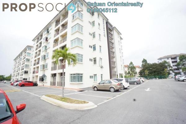 For Sale Apartment at Residensi Warnasari, Puncak Alam Freehold Unfurnished 3R/2B 240k