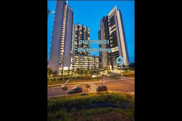 For Sale Serviced Residence at Grand Medini, Medini Freehold Semi Furnished 1R/1B 438k