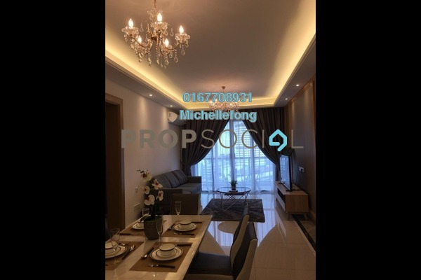 For Rent Serviced Residence at R&F Princess Cove, Johor Bahru Freehold Fully Furnished 2R/2B 2.5k