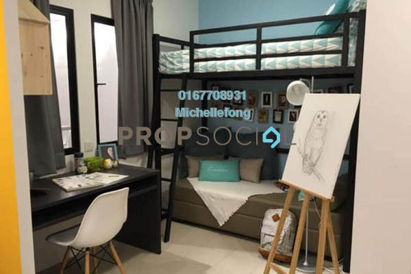 For Sale Serviced Residence at Uni Suites, Kampar Freehold Fully Furnished 1R/1B 74k