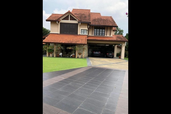 For Sale Bungalow at Bidai Residence, Bukit Jelutong Freehold Semi Furnished 7R/8B 4.85m
