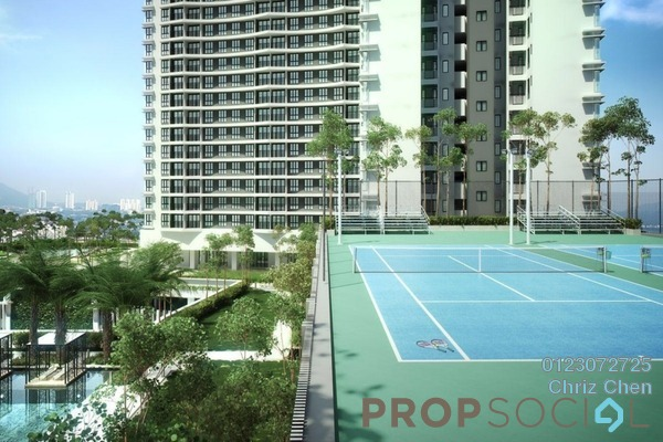 For Sale Condominium at Aviary Residence @ Puchong Horizon, Puchong Leasehold Semi Furnished 2R/2B 375k