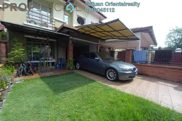 For Sale Terrace at Serambi, Bukit Jelutong Freehold Unfurnished 4R/3B 790k