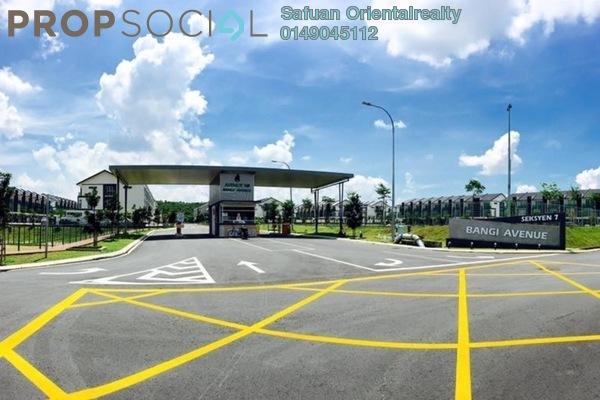 For Sale Terrace at Bangi Avenue, Kajang Freehold Unfurnished 7R/7B 610k