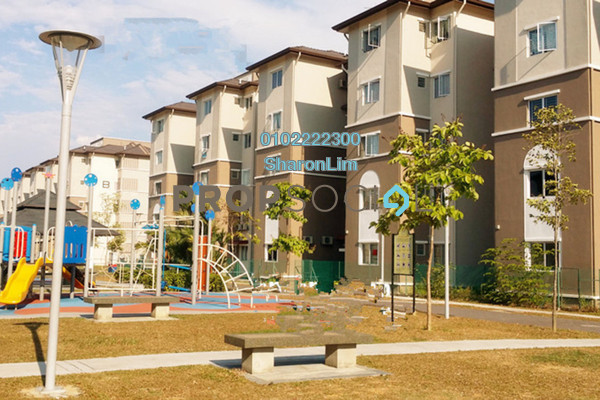 For Sale Apartment at Akasia Apartment, Klang Freehold Unfurnished 3R/2B 250k