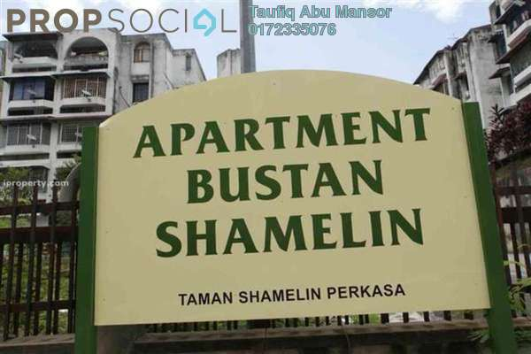 For Rent Apartment at Bustan Apartment, Cheras Freehold Fully Furnished 3R/2B 1.5k