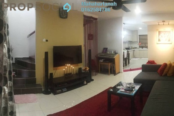 For Sale Terrace at Taman Kantan Permai, Kajang Freehold Semi Furnished 3R/2B 385k