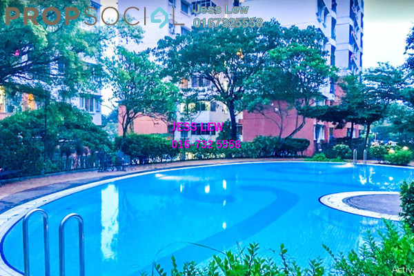 For Sale Apartment at Kenanga Apartment, Pusat Bandar Puchong Freehold Fully Furnished 3R/2B 375k