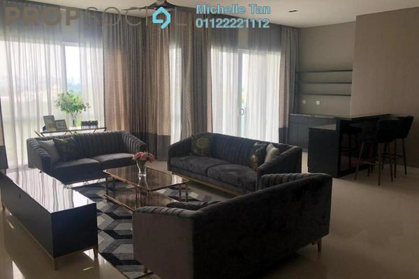 For Rent Serviced Residence at Pavilion Hilltop, Mont Kiara Freehold Fully Furnished 4R/5B 12k