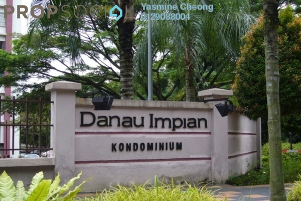 For Rent Condominium at Danau Impian, Taman Desa Freehold Fully Furnished 3R/2B 1.5k