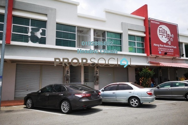 For Rent Shop at Lukut, Port Dickson Freehold Semi Furnished 2R/1B 2k
