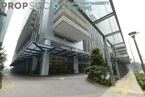 For Rent Condominium at Summer Suites, KLCC Freehold Fully Furnished 1R/1B 2.2k