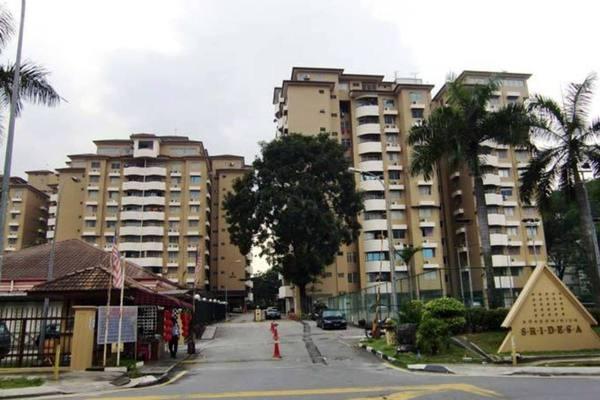 For Sale Condominium at Sri Desa, Kuchai Lama Freehold Semi Furnished 3R/2B 405k