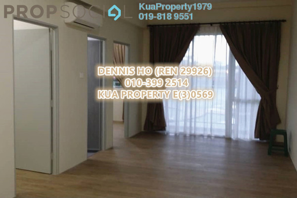 For Rent Apartment at Desa Moyan, Kuching Freehold Semi Furnished 2R/2B 1k
