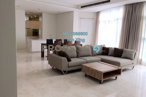 For Rent Serviced Residence at Quadro Residences, KLCC Freehold Fully Furnished 4R/5B 11k