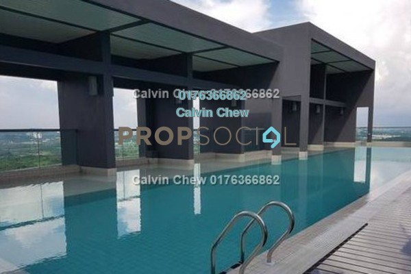 For Sale Condominium at LakeFront Residence, Cyberjaya Freehold Unfurnished 3R/2B 381k