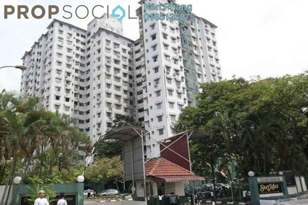 For Rent Condominium at Seri Mas, Bandar Sri Permaisuri Freehold Semi Furnished 3R/2B 1.15k