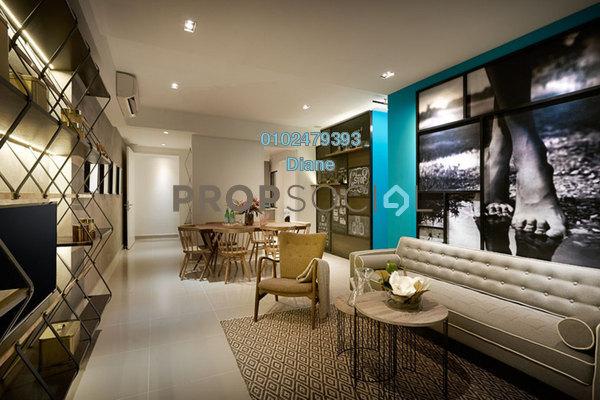 For Sale Serviced Residence at Millerz Square, Old Klang Road Freehold Fully Furnished 2R/2B 670k