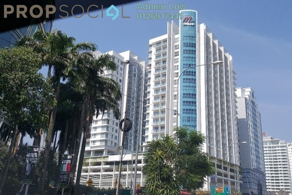 For Sale Condominium at M Suites, Ampang Hilir Freehold Semi Furnished 1R/1B 1m