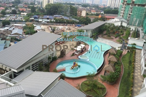For Sale Condominium at D'Pines, Pandan Indah Freehold Semi Furnished 3R/2B 630k