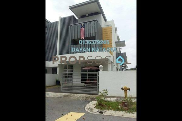 For Sale Superlink at Nadayu 92, Kajang Freehold Semi Furnished 5R/5B 1.15m