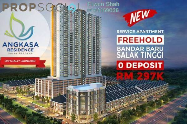 For Sale Apartment at Angkasa Residences, Sepang Freehold Unfurnished 3R/2B 297k