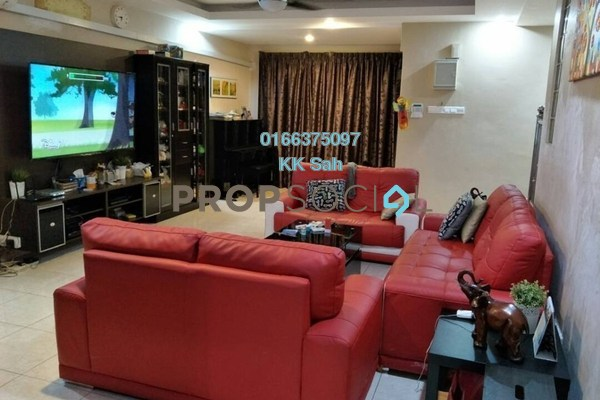 For Sale Link at Section 1, Bandar Mahkota Cheras Freehold Semi Furnished 4R/3B 649k