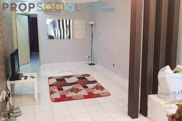 For Rent Terrace at Amansiara, Selayang Freehold Semi Furnished 3R/2B 1.4k