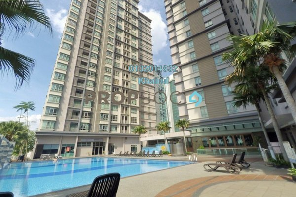 For Sale Serviced Residence at Shaftsbury Square, Cyberjaya Freehold Fully Furnished 3R/2B 520k