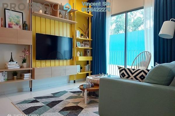 For Sale Condominium at Alstonia Hilltop Homes, Bukit Rahman Putra Freehold Semi Furnished 3R/2B 592k