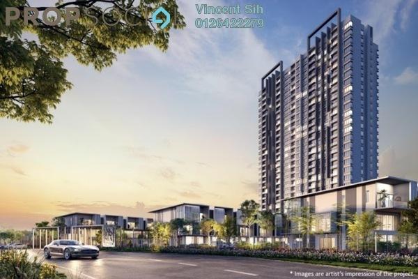 For Sale Condominium at Alstonia Hilltop Homes, Bukit Rahman Putra Freehold Semi Furnished 3R/3B 707k