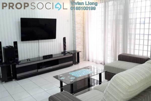 For Rent Condominium at Damai Mewah B Apartment, Kajang Freehold Fully Furnished 3R/2B 1.25k
