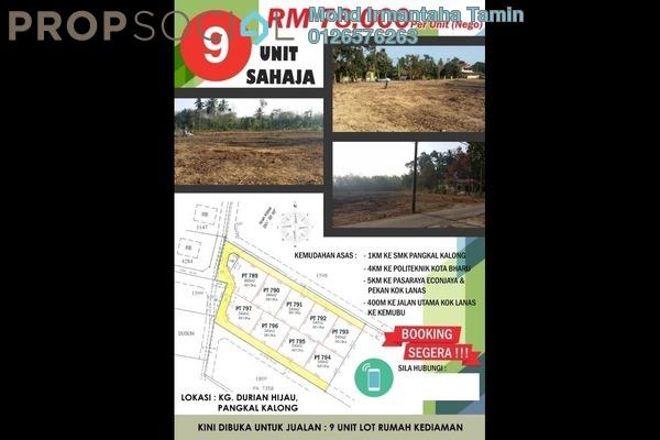 For Sale Land at Kok Lanas, Ketereh Freehold Unfurnished 0R/0B 78k