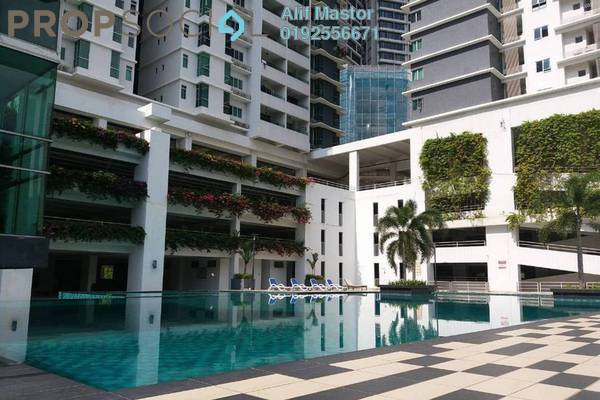 For Rent Condominium at Kiara Residence, Bukit Jalil Freehold Fully Furnished 3R/2B 2k