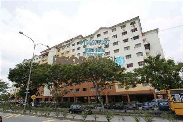 For Rent Apartment at Taman Pandamaran Jaya, Port Klang Freehold Semi Furnished 3R/2B 750translationmissing:en.pricing.unit