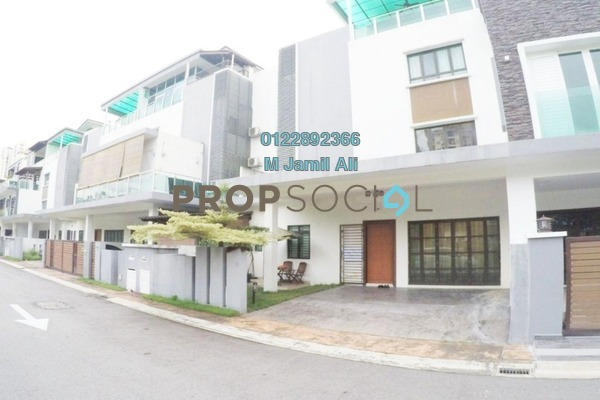 For Sale Townhouse at Duta Suria, Ampang Freehold Fully Furnished 5R/6B 1.7m