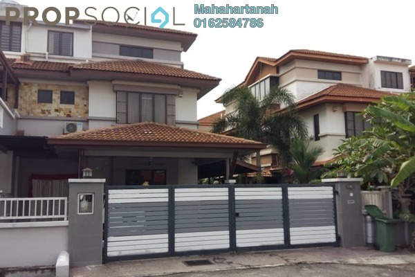 For Sale Semi-Detached at Taman Desa Baru 1, Bandar Sungai Long Freehold Semi Furnished 5R/5B 1.25m