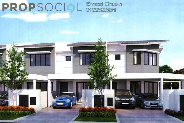 For Sale Terrace at Kampung Jenderam Hilir, Dengkil Freehold Unfurnished 4R/3B 450k