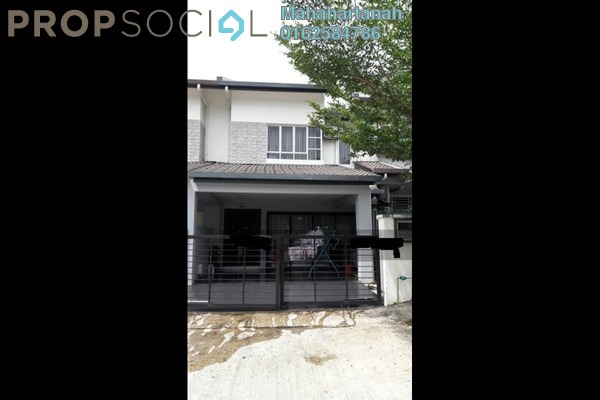 For Sale Terrace at Bandar Nusa Rhu, Shah Alam Freehold Unfurnished 4R/3B 600k
