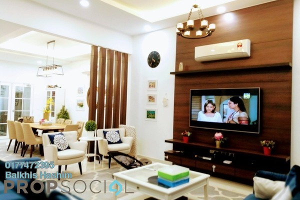 For Sale Terrace at Emerald, Alam Impian Freehold Semi Furnished 5R/5B 1m