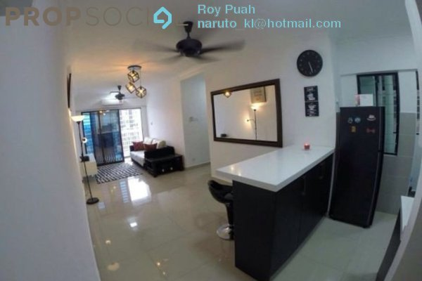 For Sale Condominium at Avenue D'Vogue, Petaling Jaya Freehold Fully Furnished 2R/1B 599k