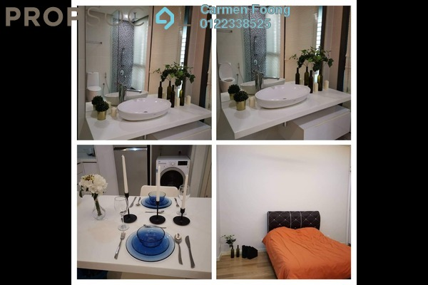 For Rent Condominium at Vogue Suites One @ KL Eco City, Mid Valley City Freehold Fully Furnished 1R/1B 3.5k