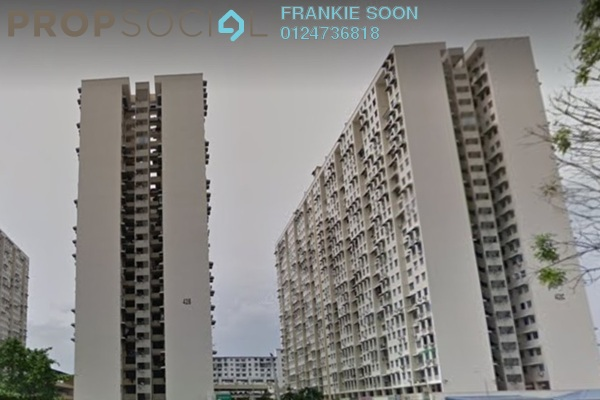 For Sale Apartment at Sri Saujana Apartment, Georgetown Freehold Unfurnished 3R/2B 195k