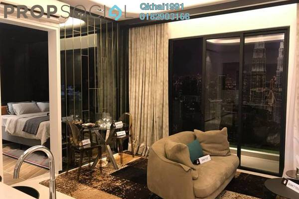 For Sale Condominium at Trion @ KL, Kuala Lumpur Freehold Semi Furnished 2R/1B 475k