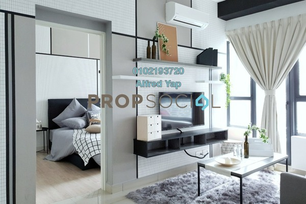 For Rent Condominium at Arte +, Jalan Ampang Freehold Fully Furnished 1R/1B 2.5k