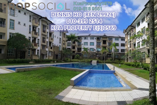 For Rent Condominium at Eden Heights Condominium, Kuching Freehold Fully Furnished 3R/2B 1.5k