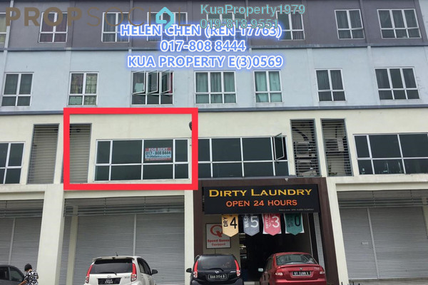For Rent Shop at Papillon Street Mall, Kuching Freehold Unfurnished 0R/0B 1.3k